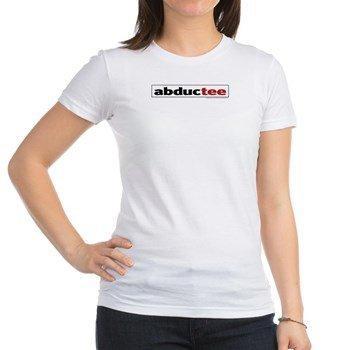 abductee-logo-baby-doll-tshirt