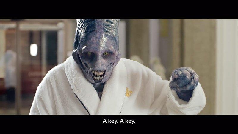 Alien commercial – An Alien Abroad (Director's Cut)