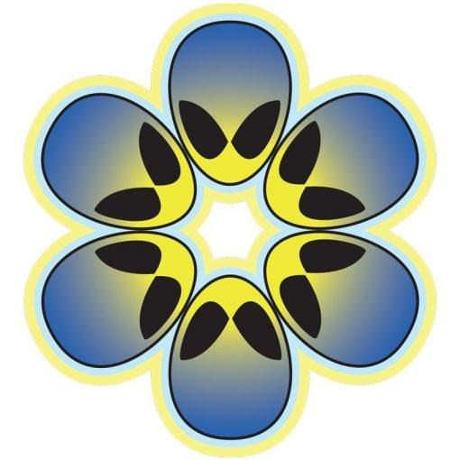 Blue Alien Flower Power