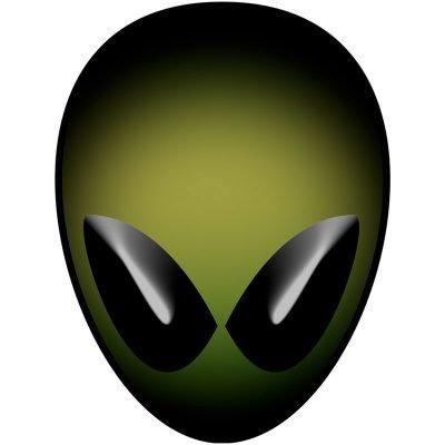 Olive Alien Head