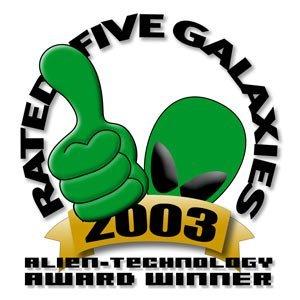 Rated Five Galaxies Website Award