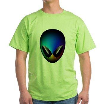 rainbow-alien-head-tshirt-green
